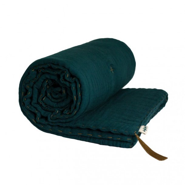 numero74 Blanket [Teal blue]<br />ヌメロ74  ブランケット