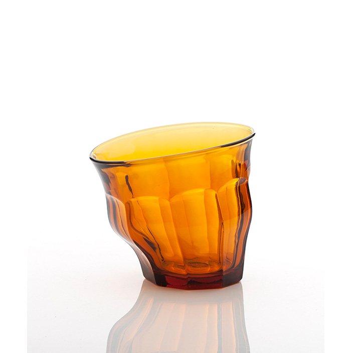 TIPSY GLASS<br />ティプシーグラス [アンバー]
