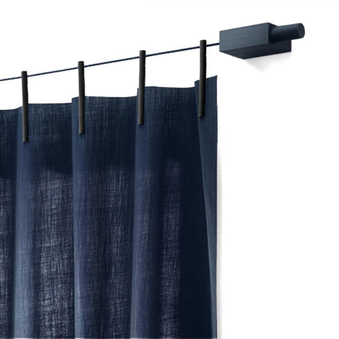 Kvadrat<br />Ready Made Curtain (NAVY)