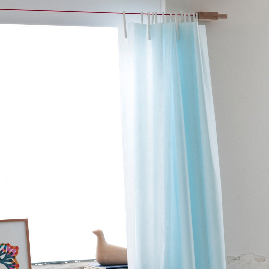 Kvadrat<br />Ready Made Curtain (PALE BLUE)
