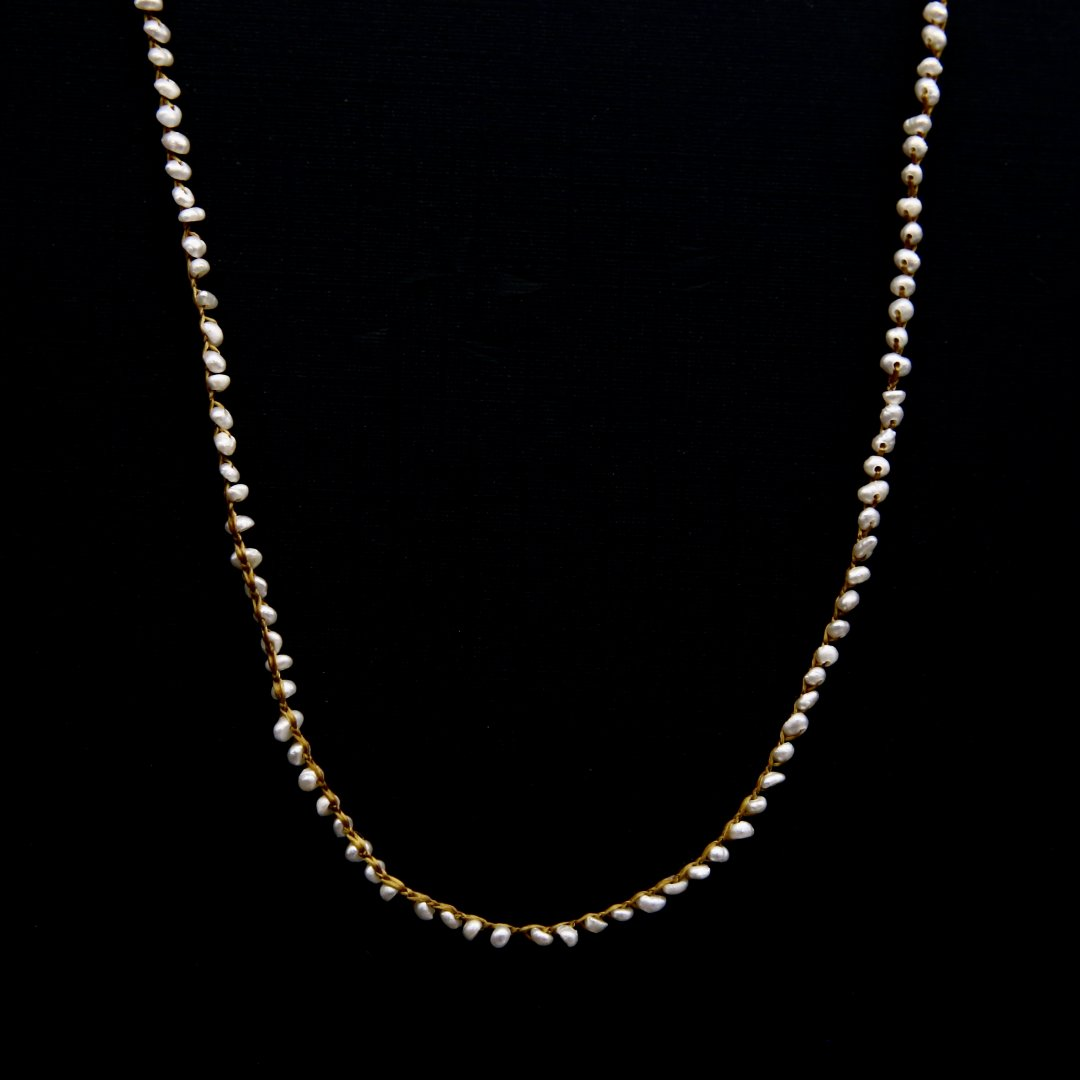 Amito  Pearl Necklace<br />コナユキネックレス short