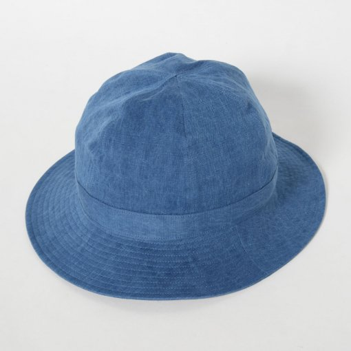 niuhans ニュアンス<br /> Indigo Dye Hat [Light Indigo]