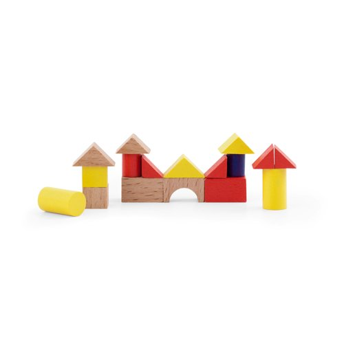 Mini Wood House Puzzle<br />ミニ積み木セット
