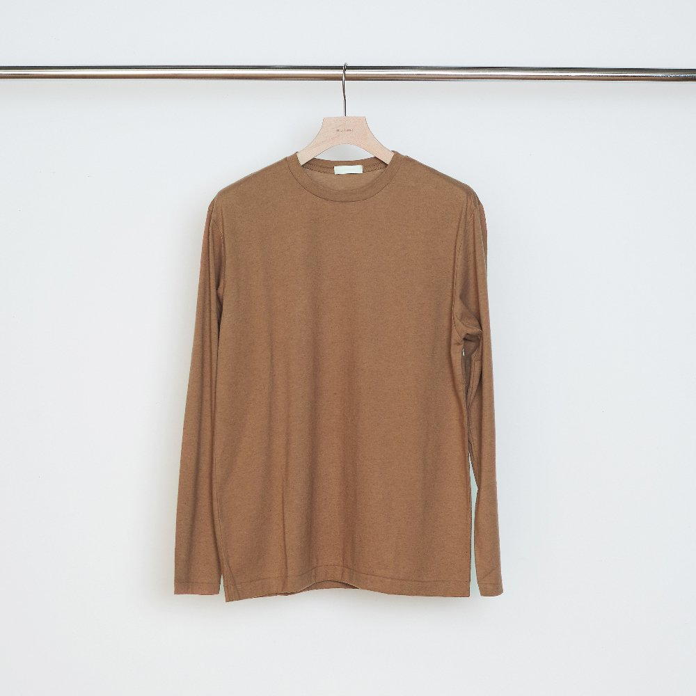 niuhans<br /> Cotton Cashmere Soft Brushed L/S Tee