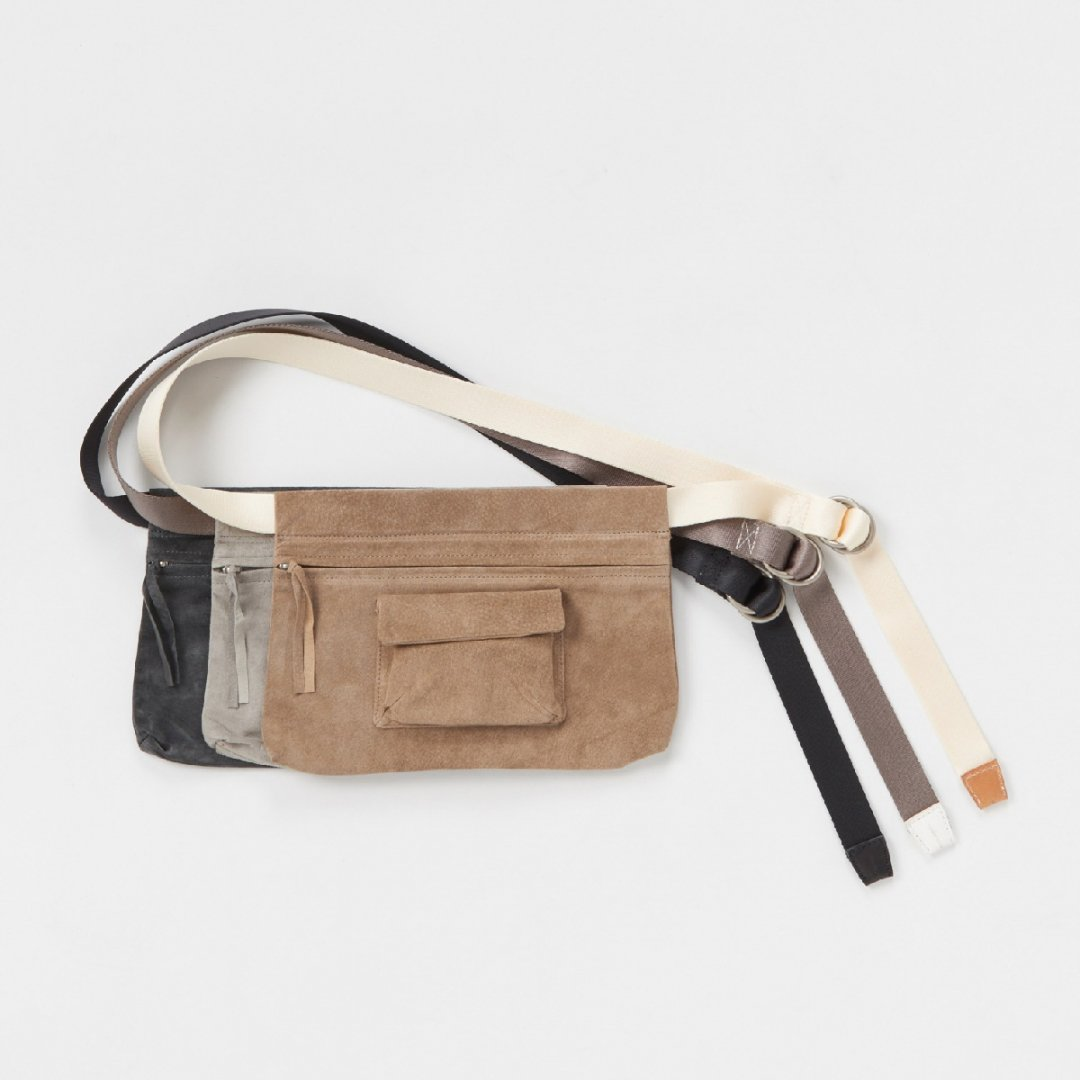 Hender Scheme<br />waist belt bag wide [3color]