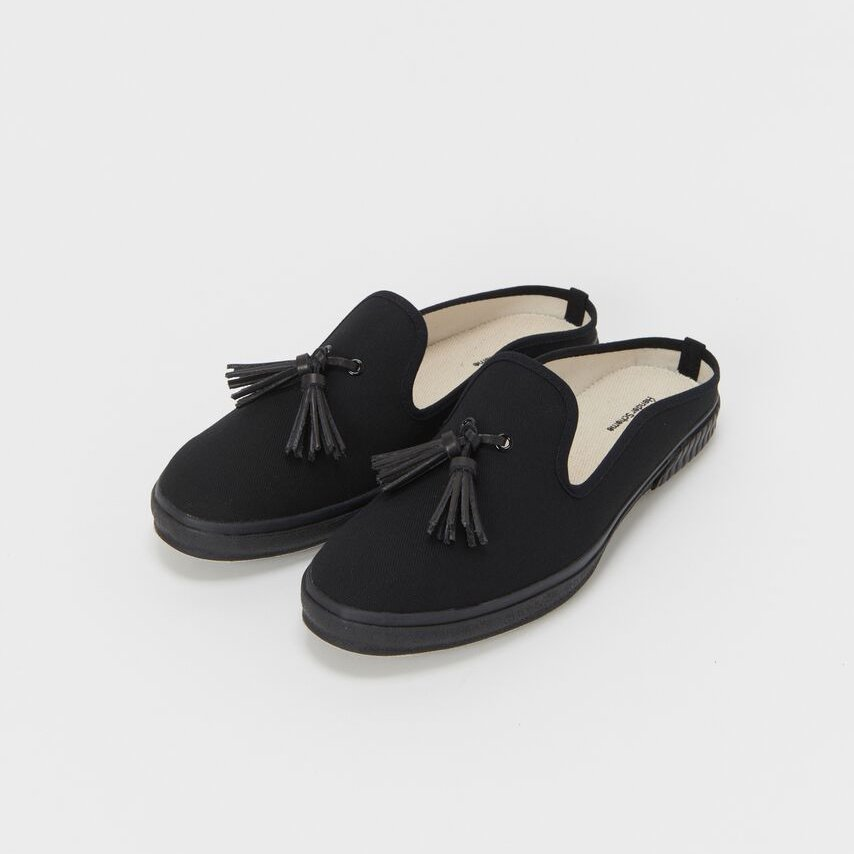 Hender Scheme<br />PEAK with tassels [black]