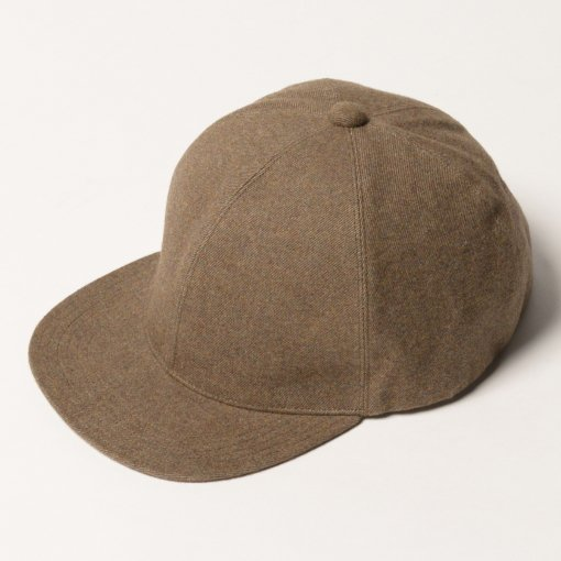 niuhans<br />Cotton Flannel Baseball Cap<br />[Light Brown]
