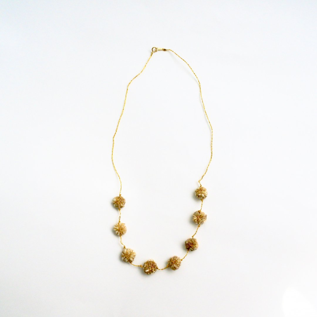 Suno&Morrison <br />Cotton Daisy Necklace