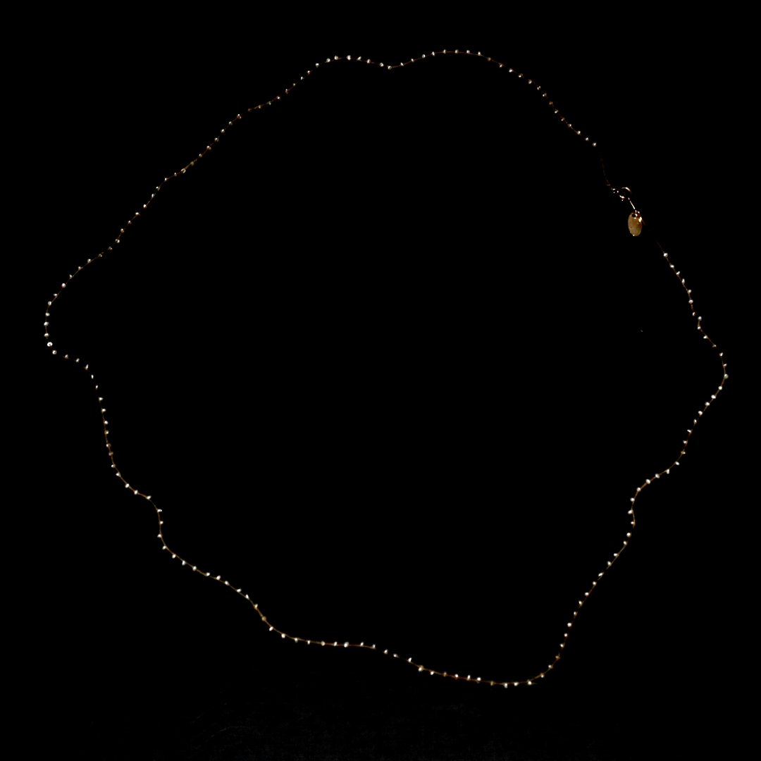Amito  Pearl Necklace<br />スノウネックレス long