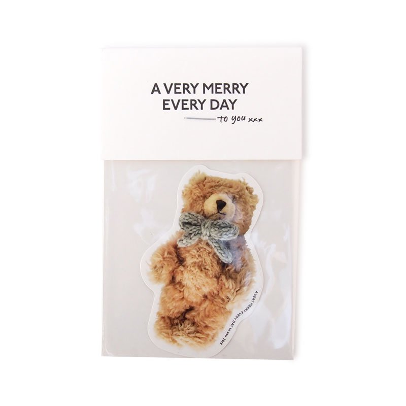 「A VERY MERRY EVERY DAY to you」2019<br />シール [5design]