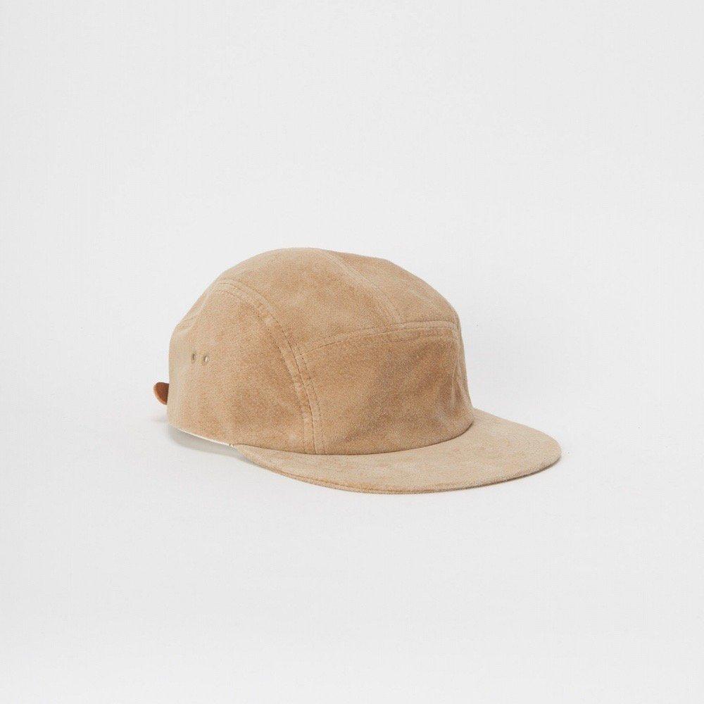 Hender Scheme <br />water proof pig jet cap [sand beige]