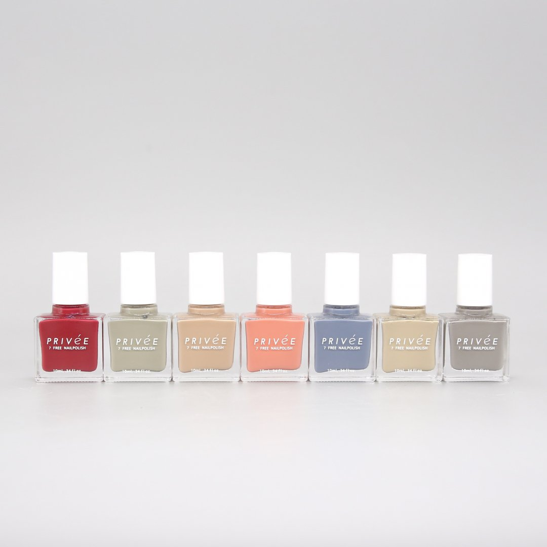 PRIVeE <br />7 FREE NAILPOLISH [ 7color ]