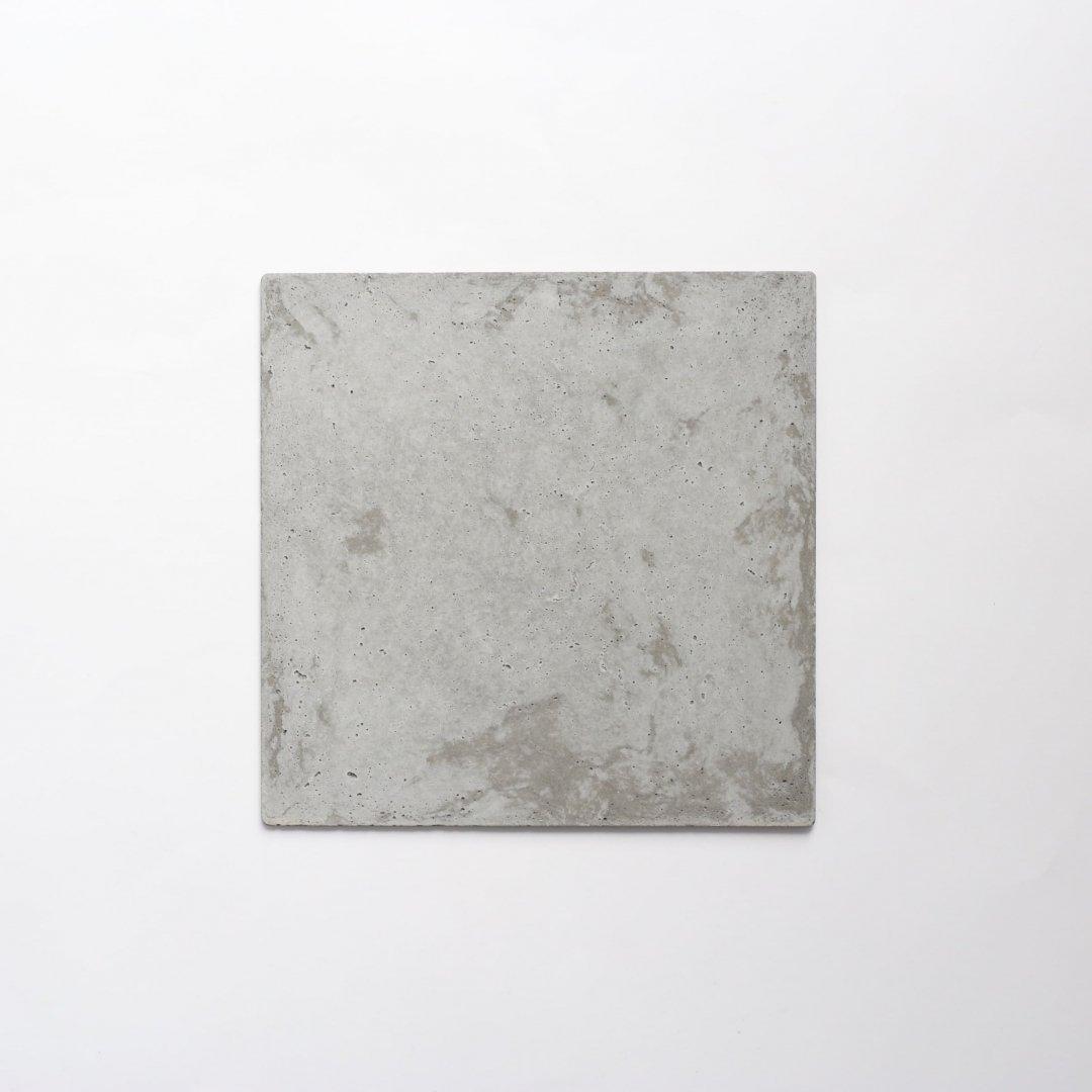 PULL+PUSH PRODUCTS<br />モルタルのマット (20cm × 20cm)
