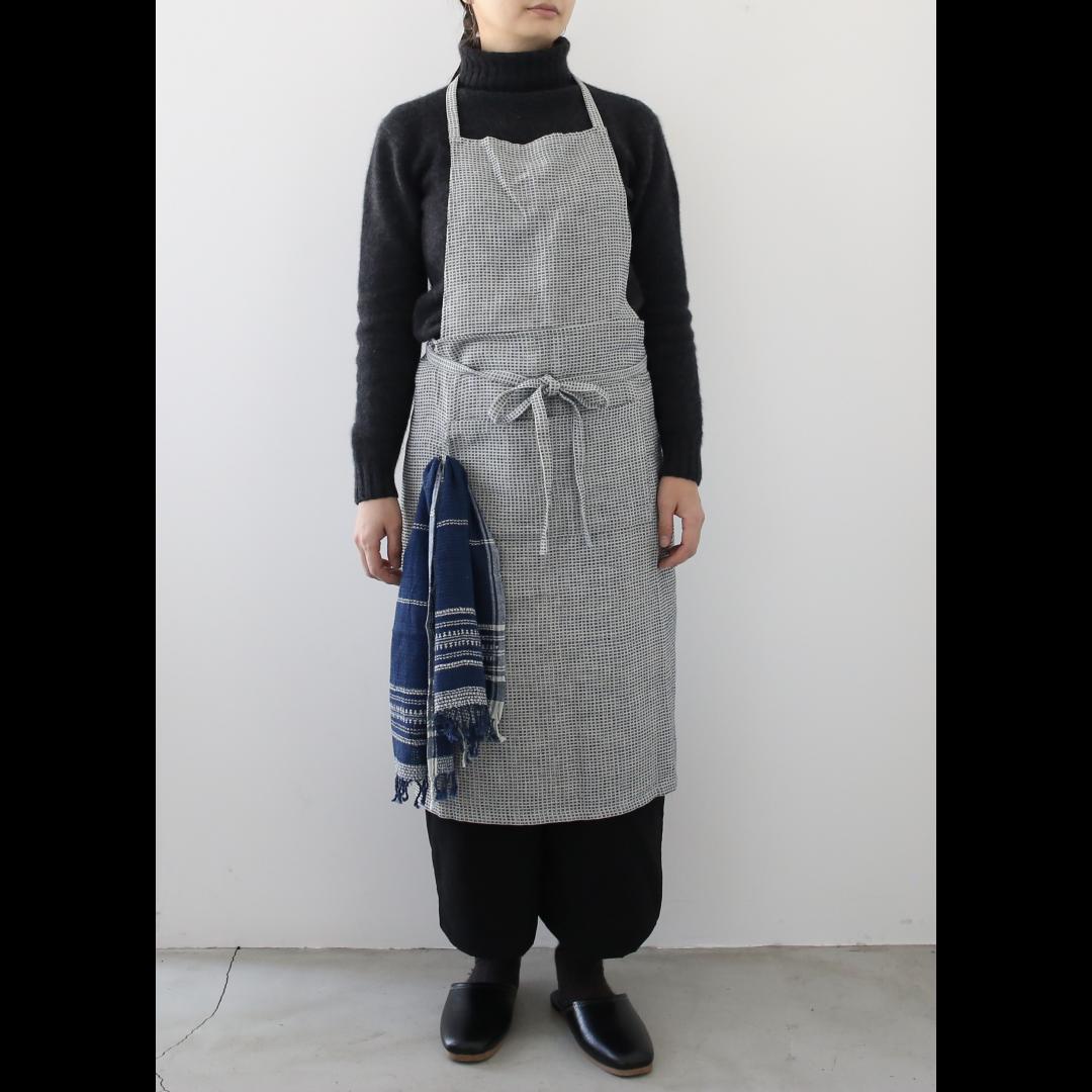 Suno & Morrison<br />Stitched Khadi Full Apron