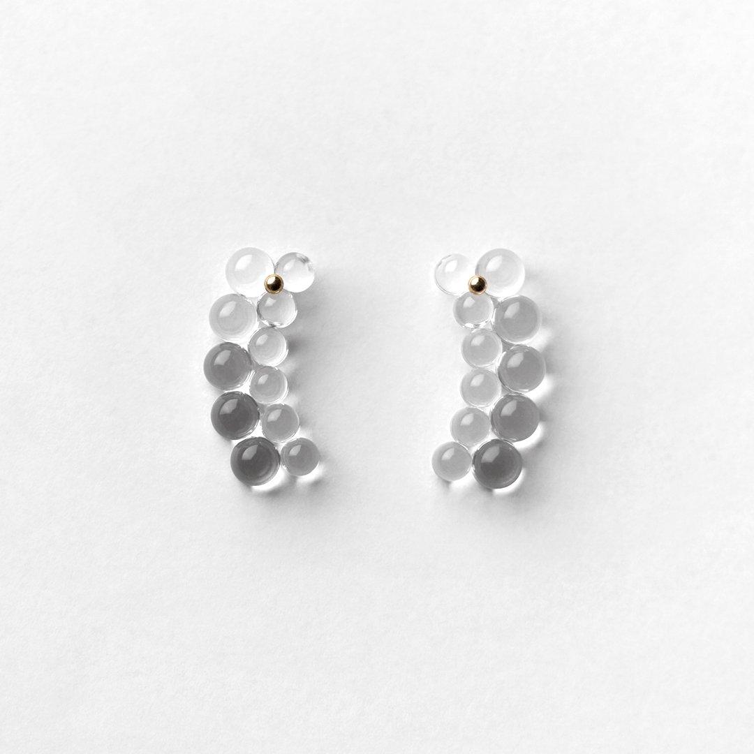 bubun<br />〈organ〉ANOMALIES #7XS earrings