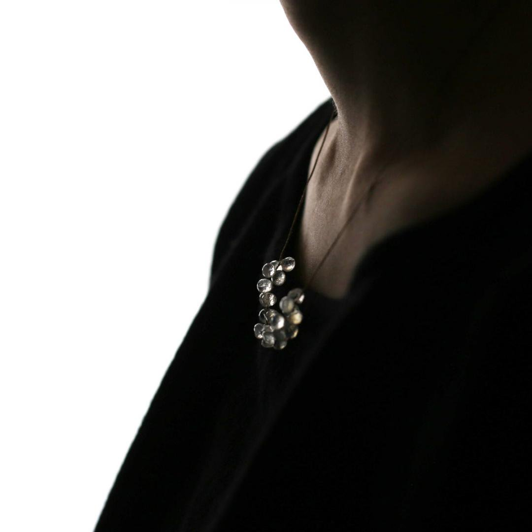 Amito Shabon Necklace<br />ムーンストーンネックレス