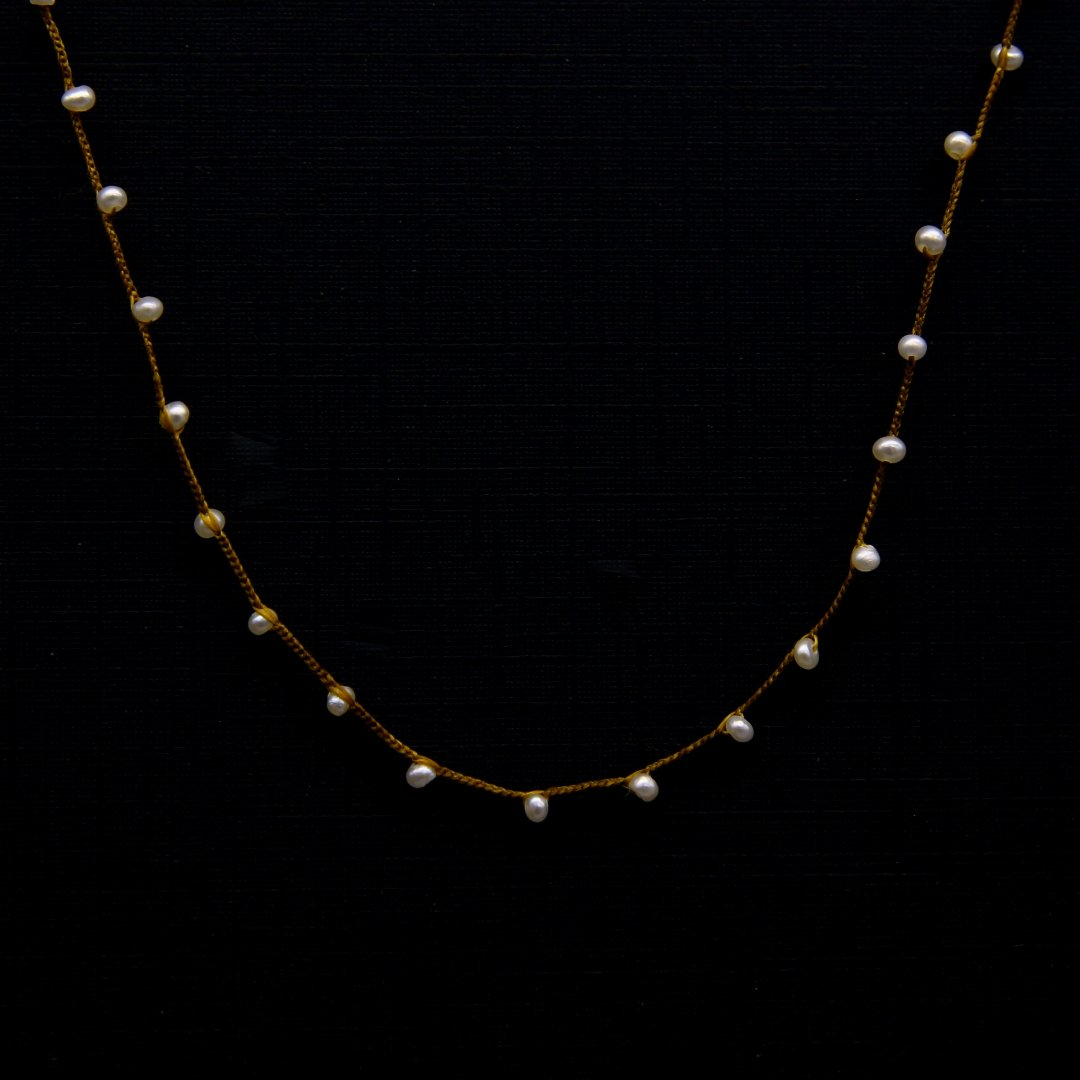 Amito  Pearl Necklace<br />ユキノヒネックレス short