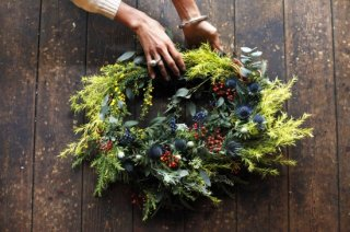 <img class='new_mark_img1' src='//img.shop-pro.jp/img/new/icons6.gif' style='border:none;display:inline;margin:0px;padding:0px;width:auto;' />2019 Christmas wreath SEMI-ORDER DAY@ATELIER (12/3,4,6,16)