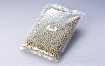 青豆1升(1.4kg)(山形県産無農薬青秘伝大豆)