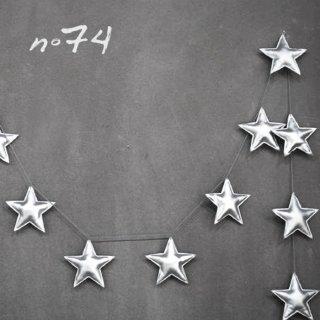 Numero74 | Mini Star Garland | Silver