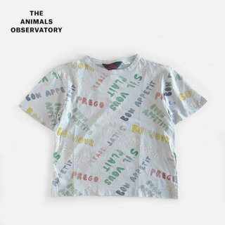 the animals observatory ( TAO ) | ROOSTER OVERSIZE (JZ) KIDS T-SHIRT | 2y- 10y