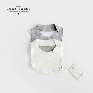 GRAY LABEL  | BABY BIB | BABY(One Size)