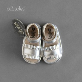 old soles | RUFFLE BABY | SILVER | BABY(12.2-13.4)