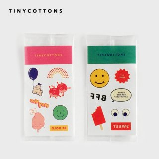 tinycottons  タイニーコットンズ | BLOCK PARTY tattoos