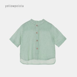 <img class='new_mark_img1' src='//img.shop-pro.jp/img/new/icons2.gif' style='border:none;display:inline;margin:0px;padding:0px;width:auto;' />yellowpelota | Hawaian Shirt  | Green | 2y-10y