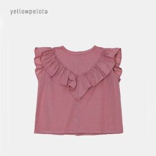 yellowpelota | Honolulu Blouse | Plum | 4y-10y