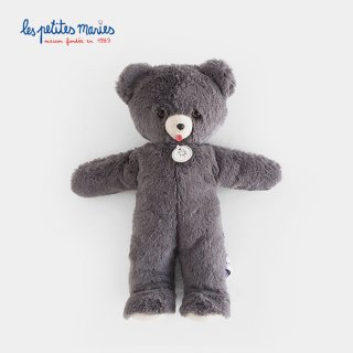 <img class='new_mark_img1' src='//img.shop-pro.jp/img/new/icons2.gif' style='border:none;display:inline;margin:0px;padding:0px;width:auto;' />Les petites maries|Ours TOINOU grey bear
