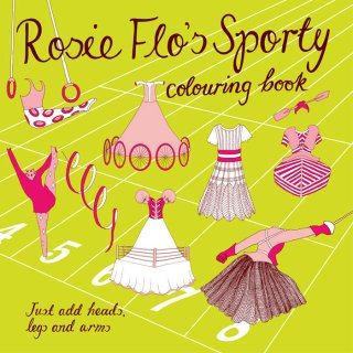 Rosie Flo | Colouring Books | Sporty