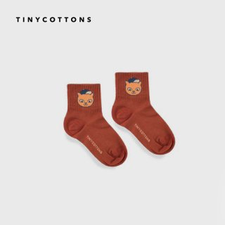 tinycottons | CAT MEDIUM SOCKS | 6/12m-4y