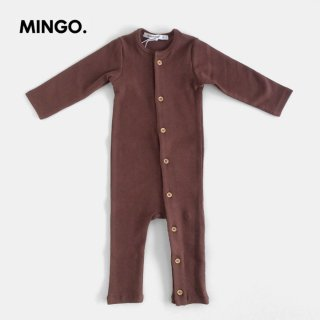 MINGO | Play suit | Bitter Chocolate | 6-12m
