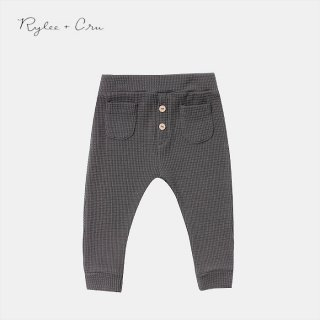 Rylee+Cru | thermal pant | black (6-12m)-(2-3y)