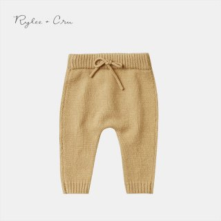 Rylee+Cru | gable pant | honey (6-12m)-(18-24m)