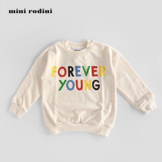 mini rodini | FOREVER YOUNG SP SWEATSHIRT | OFFWHITE (80/86)- (116/122)