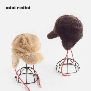 mini rodini | Faux fur cap
