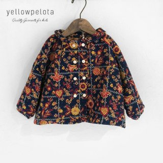<img class='new_mark_img1' src='//img.shop-pro.jp/img/new/icons2.gif' style='border:none;display:inline;margin:0px;padding:0px;width:auto;' />yellowpelota | Jacquard blouse | 12m-3y