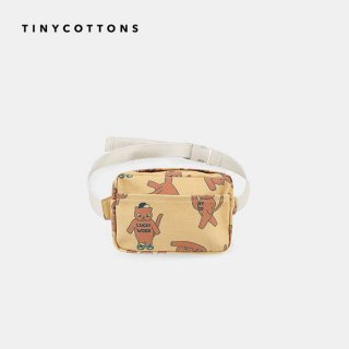 tinycottons | CATS FANNY BAG | sand/brown