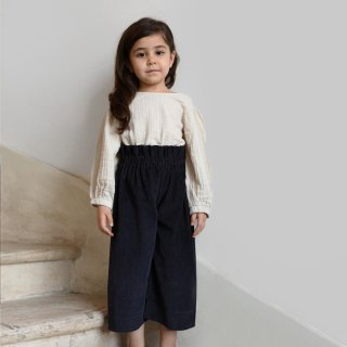 minimom | Aster trousers | Navy Blue (2y)-(5-6y)