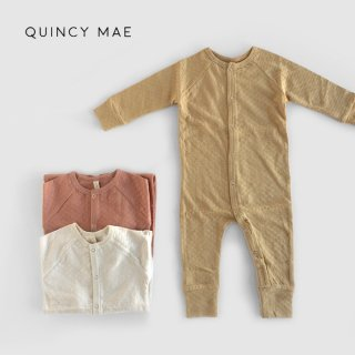 Quincy Mae | Pointelle Long John | (3-6m)-(6-12m)