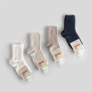 condor|Rib Short Socks | 2Y