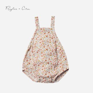 <img class='new_mark_img1' src='//img.shop-pro.jp/img/new/icons2.gif' style='border:none;display:inline;margin:0px;padding:0px;width:auto;' />Rylee+Cru | flower field norah romper | (6-12m)-(12-18m)
