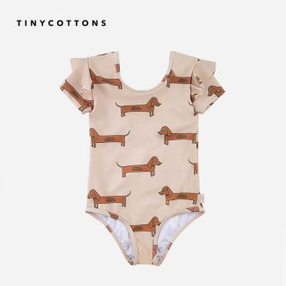 tinycottons | IL BASSOTTO FRILLS SWIMSUIT | 2- 6y