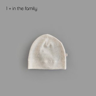 【割引クーポン対象商品】1+in the famiry | SIRO bonnet / ECRU