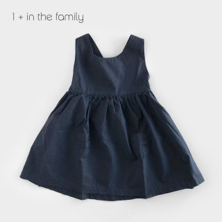 【割引クーポン対象商品】1+in the famiry | LUCCIANA dress / BLUE NOTE | 12m-36m