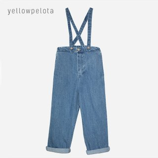 <img class='new_mark_img1' src='//img.shop-pro.jp/img/new/icons2.gif' style='border:none;display:inline;margin:0px;padding:0px;width:auto;' />yellowpelota | Clash Denim Trourser  | 4y-6y