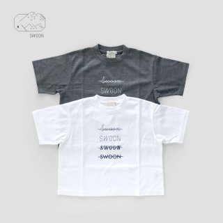 SWOON | SWOON ロゴTee |  S(95-100)-XL(140-150)