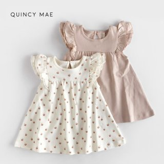 【割引クーポン対象商品】 Quincy Mae | Flutter Dress (12m-18m)-(2-3y)
